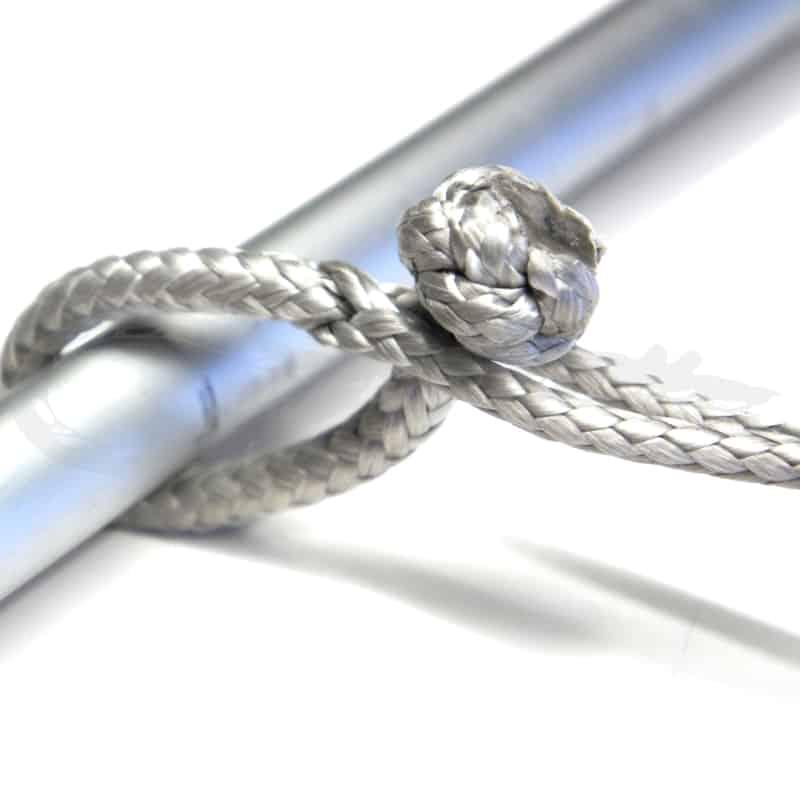 Diamantknoten am Dyneema Seil