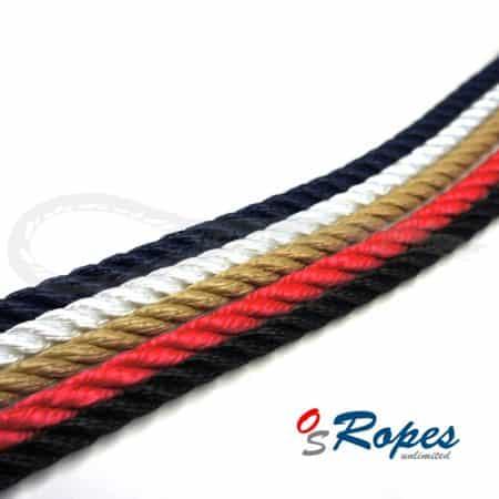 gedrehtes PP Tauwerk pp-Twist OS-Ropes