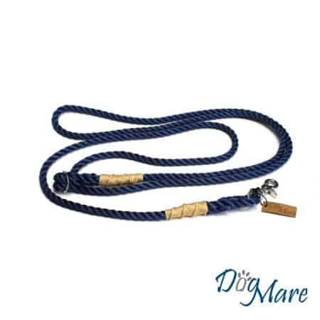 """Hundeleine """"Seaman"""" marineblau"""