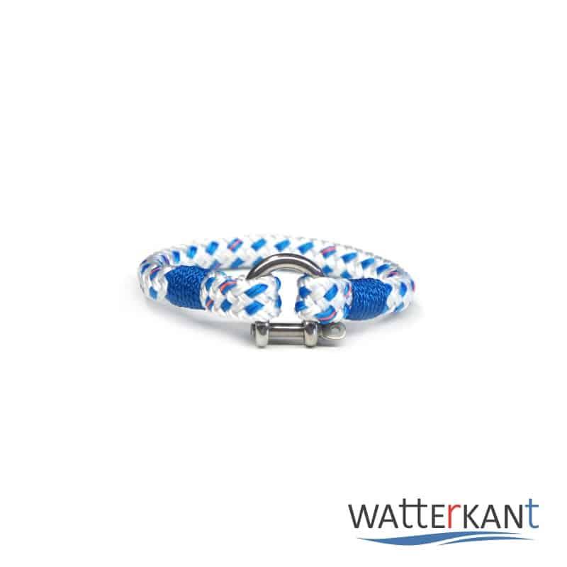 Armband aus Segeltau mooring blau