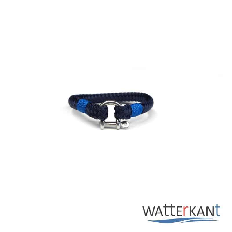 Armband aus Segeltau sheet marineblau blau