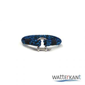 armband aus segeltau halyard blau