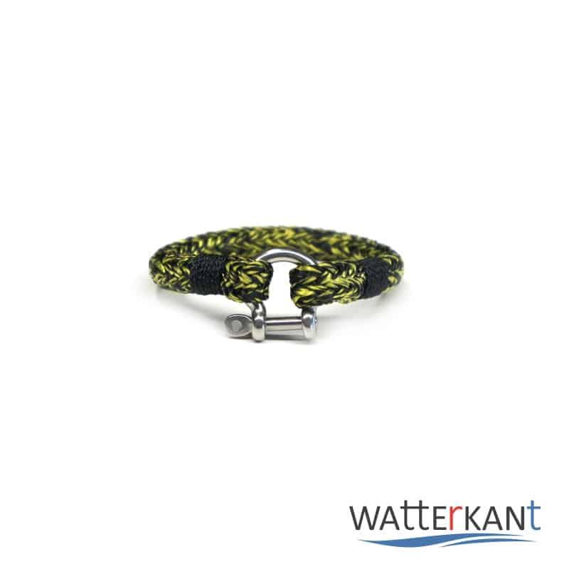 armband aus segeltau halyard gelb